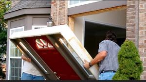 Ouverture de porte quip e d 39 un bloc porte blind e sur paris 20 guide serrurerie - Comment ouvrir une porte blindee ...