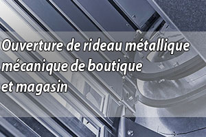 Dépannage rideau métallique - Serrurier Paris