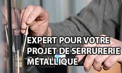 Expert pour votre projet de serrurerie métallique