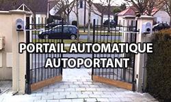 portail automatique autoportant