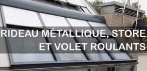 Rideau métallique sécurisé
