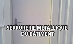 Serrurerie métallique du bâtiment