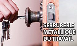 Serrurerie métallique du travail