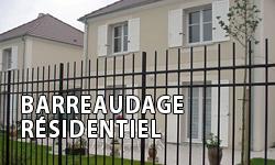barreaudage résidentiel