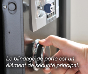 installation de porte blindée sur Paris 19
