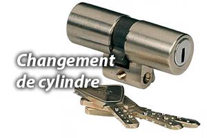 Pour un changement de cylindre, faites confiance à un serrurier.