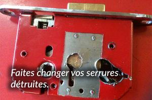 connaitre le fonctionnement d'une serrure pour la changer