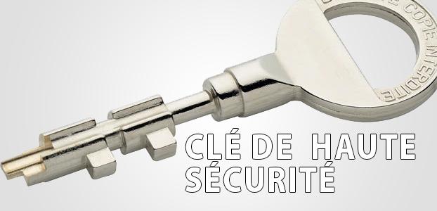 clé de haute sécurité