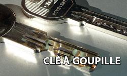 La clé à goupille avec des trous ou radiale