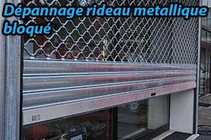 intervention sur rideau métallique - Expert serrurier