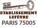 Ets Lefevren serrurier Paris 5