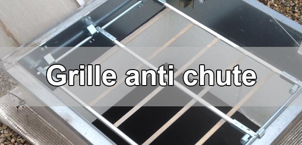 Pose d'une grille anti-chute