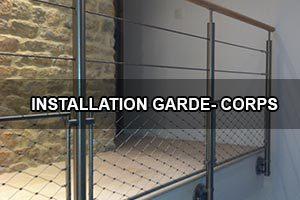 Comment installer un garde coprs?