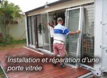 Réparation et installation porte vitrée sur paris 8