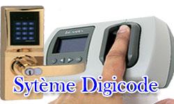 système d'acces pas digicode