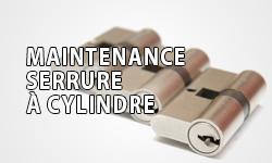 maintenance serrure à cylindre