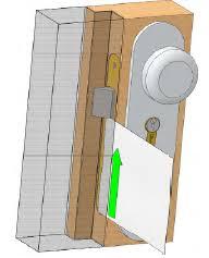 Contactez un serrurier pour une ouverture porte claquée réussie.
