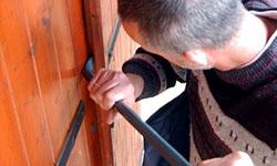 ouvrir une porte blindée sans destruction