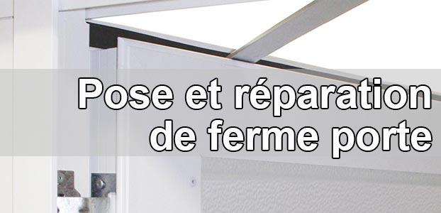 installation ferme porte des conseils simples et pratiques. Black Bedroom Furniture Sets. Home Design Ideas