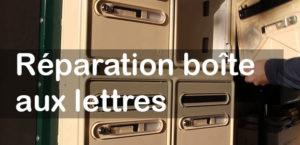 Réparation Boite au lettres