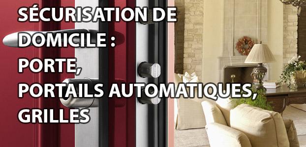 Porte, portails automatiques, grilles