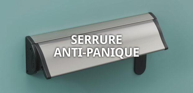 Serrure anti-panique