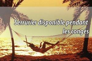 Serrurier mois d'août Le Chesnay disponible à 39€